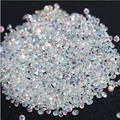 New 1440Pcs Micro Diamond DIY Nails Rhinestones Crystal Flat Back Non Hotfix Rhinestones stickers Need Glue Nail Art Decoration