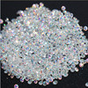 New 1440Pcs Micro Diamond DIY Nails Rhinestones Crystal Flat Back Non Hotfix Rhinestones stickers Need Glue Nail Art Decoration