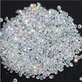 Nova 1440 Pcs Micro Diamante DIY Unhas Strass Cristal Plana Volta Non Hotfix Strass adesivos Precisa Cola Nail Art Decoração