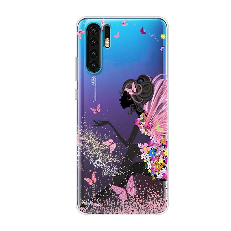 Cartoon Case Huawei P30 Lite Case Soft Silicone Back Cover Phone Case For Huawei P30 Lite Pro P30lite P30pro P 30