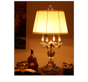 Image 2 - Fashion ofhead k9 crystal table lamp luxury high quality crystal table lamp for bedroom lobby table lamp abajur de mesa lamparas
