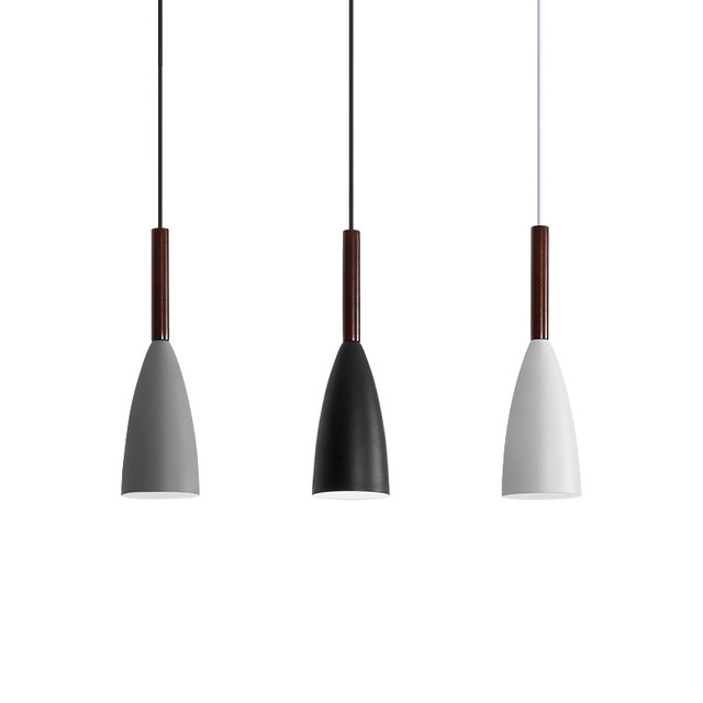 Opkmb Vintage Led Pendant Lights Dining Room Modern Single Lamp Nordic Light Fixture For Restaurant In From