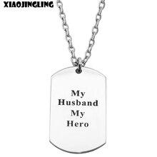XIAOJINGLING Stainless Steel My Hero Men Jewelry Unique