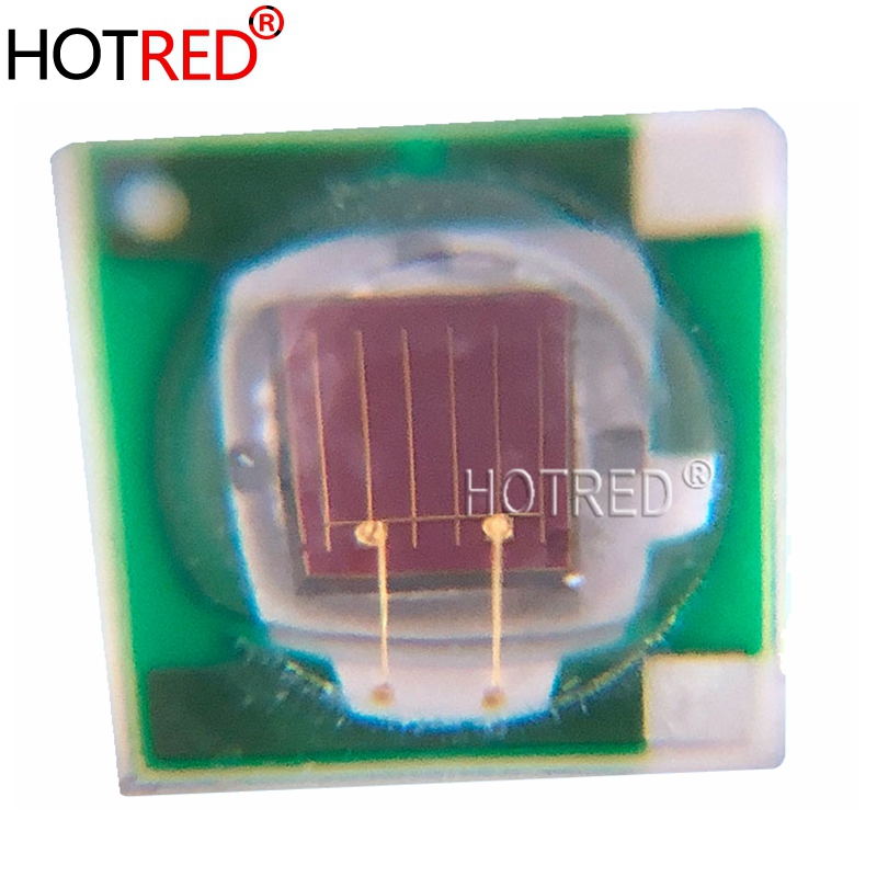 100PCS Epileds 3W 3535 SMD Deep Red High Power 660NM Plant Grow <font><b>LED</b></font> Light Diode lamp with 20mm/16mm <font><b>PCB</b></font> <font><b>Board</b></font> image