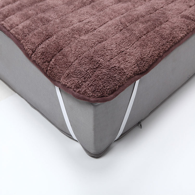 Plush Foldable Mattress bed Cover mattress cover protector With Feet Care Mattress Pad for Japanese single Bed sheet on elastic