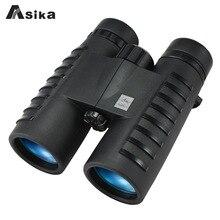 Military HD Asika 10x42 Binoculars Professional Hunting Telescope Zoom High Quality Vision Eyepiece Powerful Compact waterproof все цены