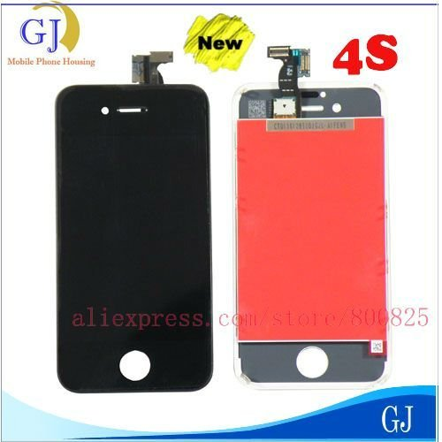 20 pcs/lot For iPhone 4S LCD Display complete,brand new and A+ quality ,with tools kit