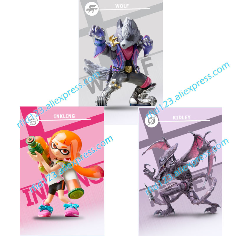 US $6 99  3 New NFC Amiibo Card for Super Smash Bro -in Access Control  Cards from Security & Protection on Aliexpress com   Alibaba Group