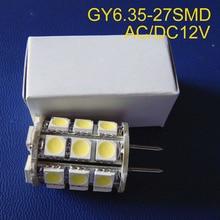 Высокое качество AC/DC12V GY6.35 светодиодный лампы, G6.35 освещение, GU6.35 огни, GY6 светодиодный Кристалл лампы 12 В светодиодный G6 лампы 2 шт./лот