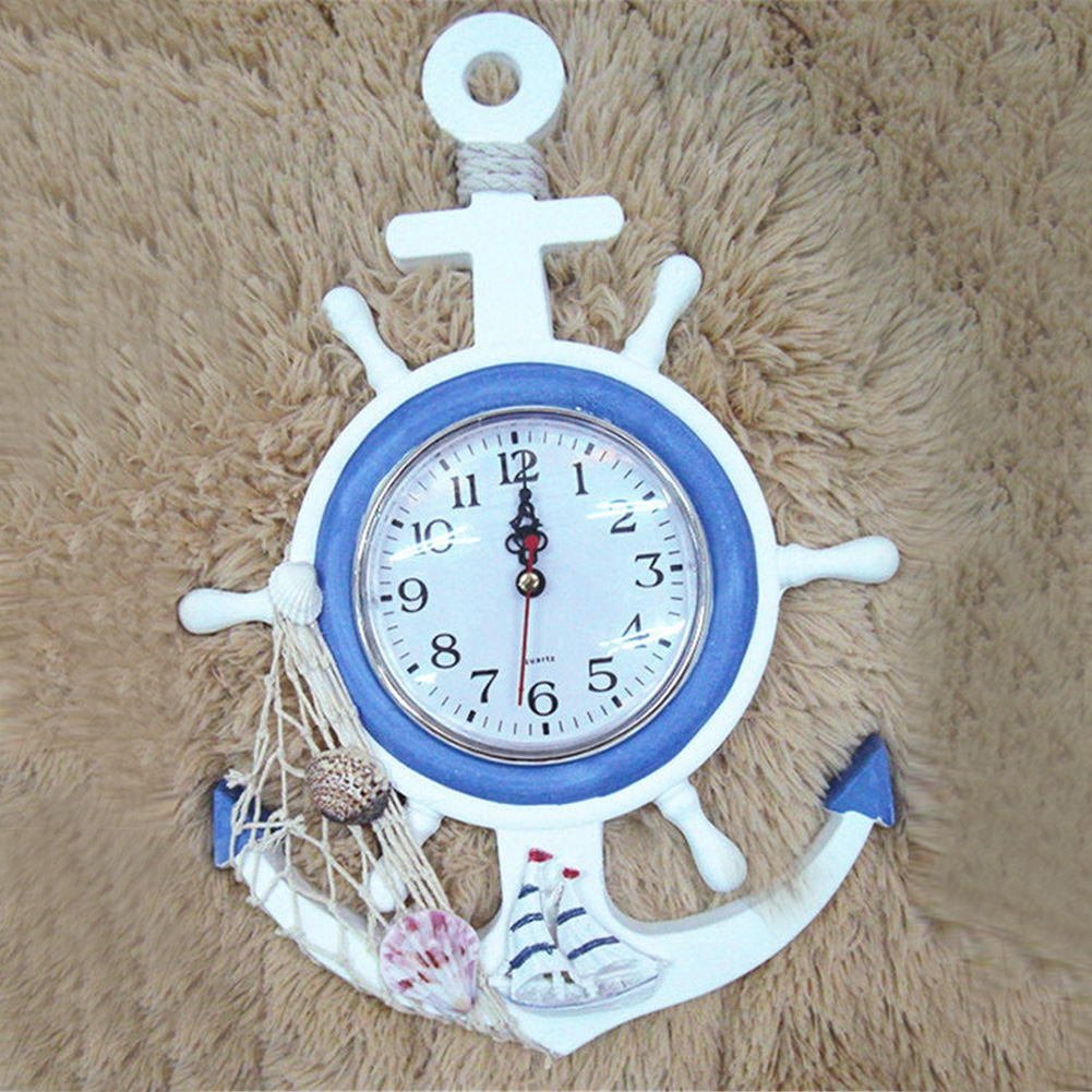 Sea Anchor Small Alarm Clock