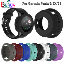 For Garmin fenix 5/5S/5X smart watch GPS soft Silicone Protective Case Cover For Garmin fenix 5/5S/5X Replacement Accessories