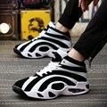 Обувь мужчины 2016 новый мужской бренд обувь мужская обувь Дышащий удобная Корзина homme Мужской тренеры Zapatillas Hombre Черный спорт