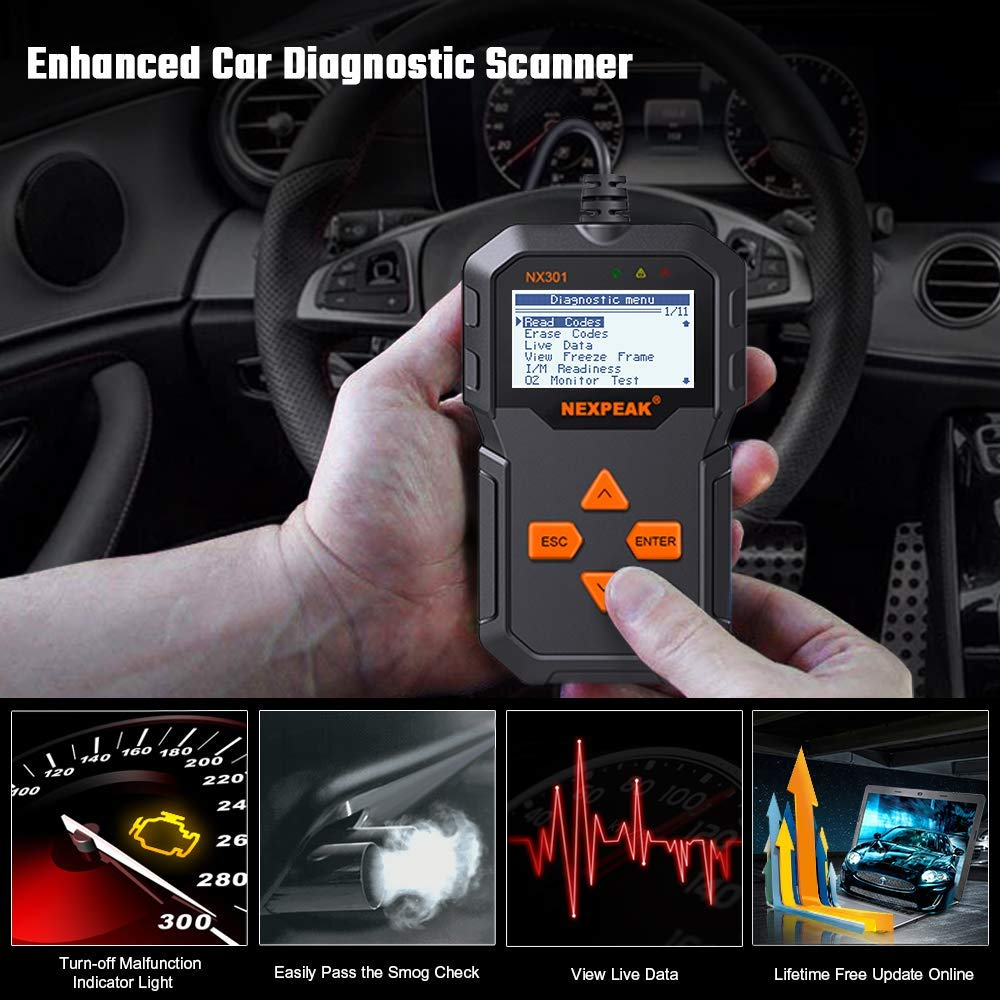 Image 3 - OBD2 Automotive  Auto Diagnostic Scanner Full OBD Modes Scan Tools Car Code Reader  Diagnostic Car ODB 2 Pk AD310 ELM327-in Code Readers & Scan Tools from Automobiles & Motorcycles