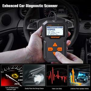 Image 3 - Scanner de Diagnostic automatique des véhicules à moteur OBD2 plein Modes OBD outils de balayage lecteur de Code de voiture voiture de Diagnostic ODB 2 Pk AD310 ELM327