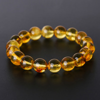 JIUDUO Bracelet silver Lucky Women Amber Hand with Certificate Natural Blood Perfection DIY Men and Women Blood Park Chain