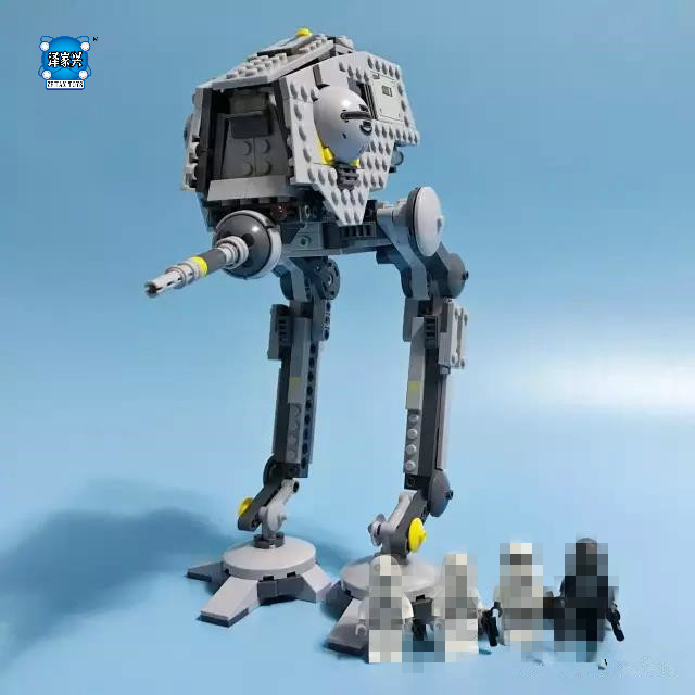 Star Space Wars The AT-DP Building Blocks Model Compatible Bricks Figure Lepins Fiigures Toys for Children toys in space