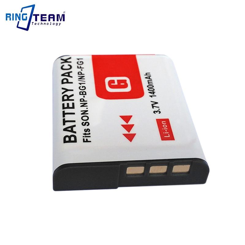 2Pcs Batería NP-BG1 para Sony Cybershot DSC-W290 W300 H70 H9 H7 H3 H20 H55 T100