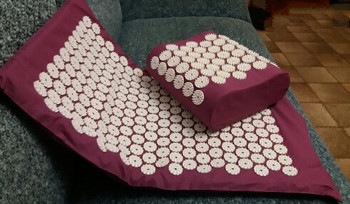 Yoga Mat Massage Cushion Acupressure Mat Relieve Body Stress Pain Acupuncture Spike Massage Mat Pillow