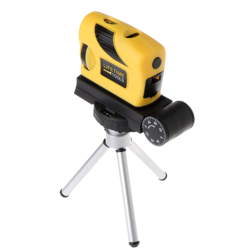 4in1 360 Rotary Laser Level Self-Levelling Cross Line Measuring + Tripod Stand