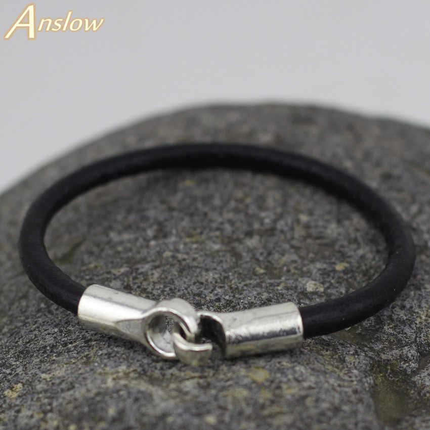 Low0015lb moda jóias 3 cores pulseira de couro real pulseiras para mulheres ou meninas moda homem braceletes unisex jóias