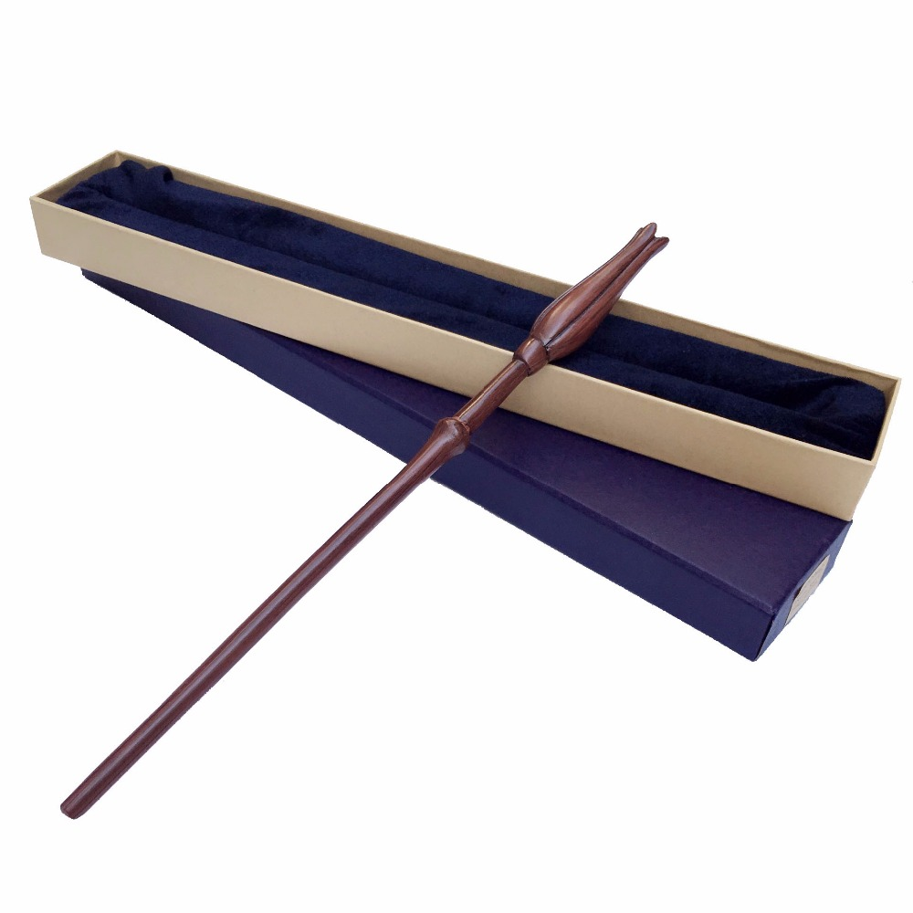Free Shipping New style Harry Potter Luna Lovegood Magical Wand with a Gift Box Cosplay Toy