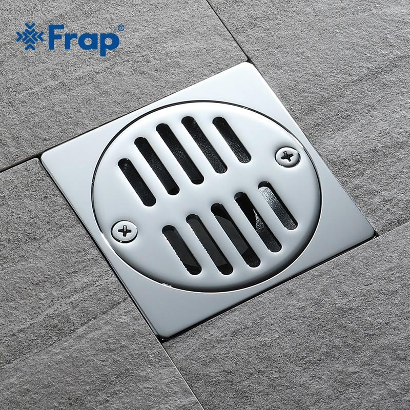 Frap Hot Sale Copper Shower Floor Drain Bathroom Toilet ...