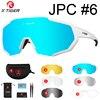 Óculos 5 lentes polarizadas para ciclismo, armação para miopia, óculos de sol para andar de bicicleta e esportes ao ar livre, unissex, X-TIGER 11