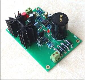 Image 3 - Kaolanhon double Op Amp TL072 STUDER900 amplificateur régulé carte dalimentation kit de carte fini avec dissipation de chaleur cc 5 V 24 V