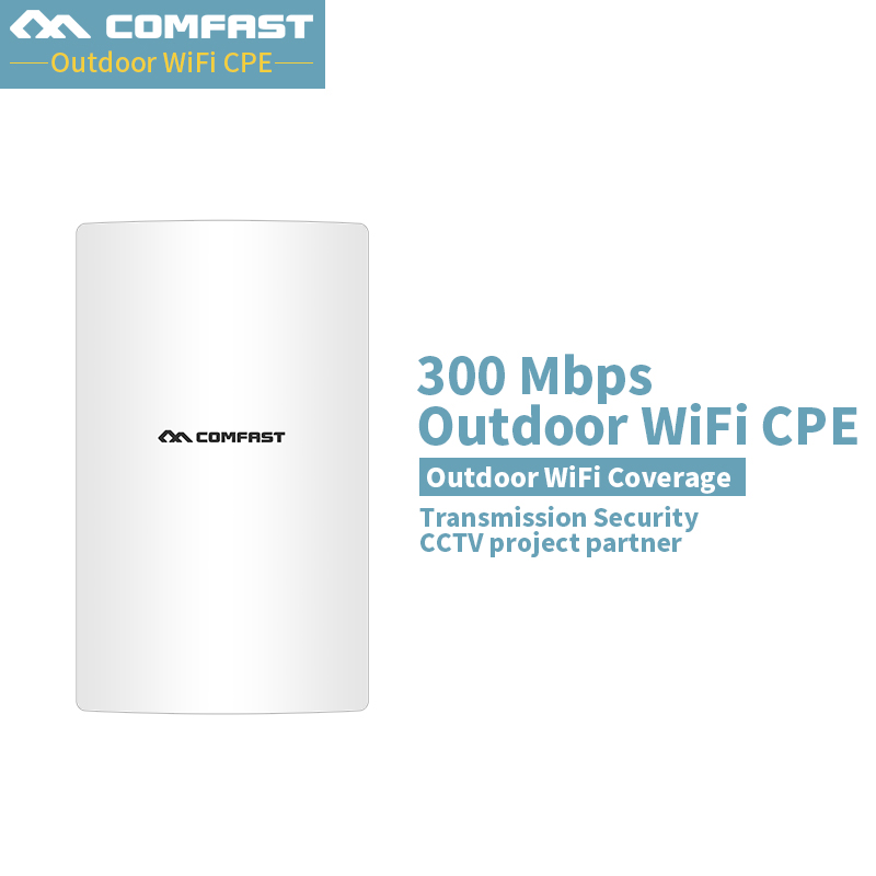 2018 New Update Comfast CF-E316NV3 300Mbps Long Distance Outdoor Mimo Wireless Transmission wifi Coverage CPE wifi Router