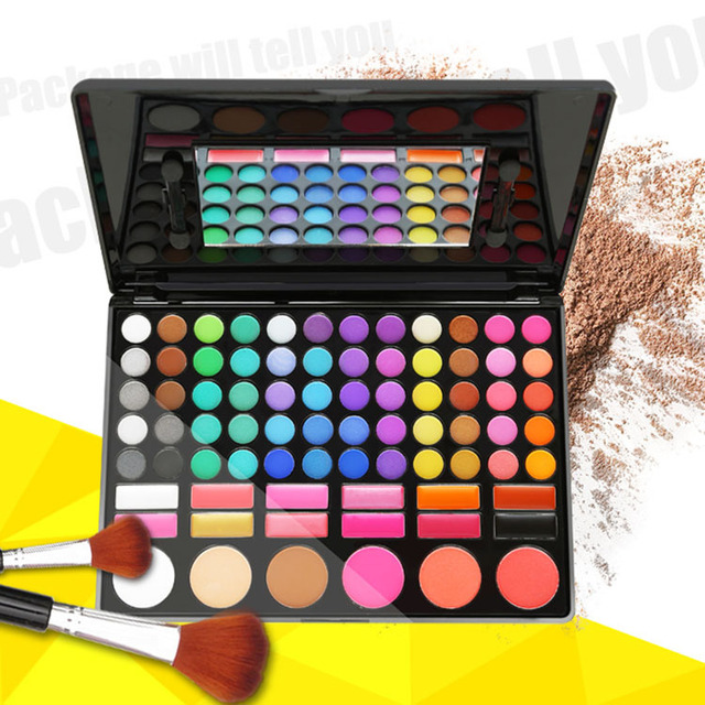 78 Color Fashion Cosmetics Mineral Make Up Cosmetics Makeup Eye Shadow Palette eyeshadow set for women 25614