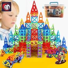BD 110-252pcs Mini Magnetic Designer Construction Set Model & Building Toy Magnetic Blocks Educational Toys For Children Gifts стоимость