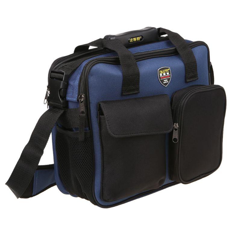 2019 New Portable Repair Tool Kit Shoulder Bag Portable Handbag Storage Case Pouch Organizer With Reflective Strip Worker DIY