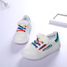 Children's sneakers loafers boy Velcro low help cuhk child antiskid breathable girls low sneakers