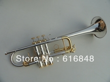 wholesale Silver Bach type C the small brass instruments C180ML239 TRUMPET