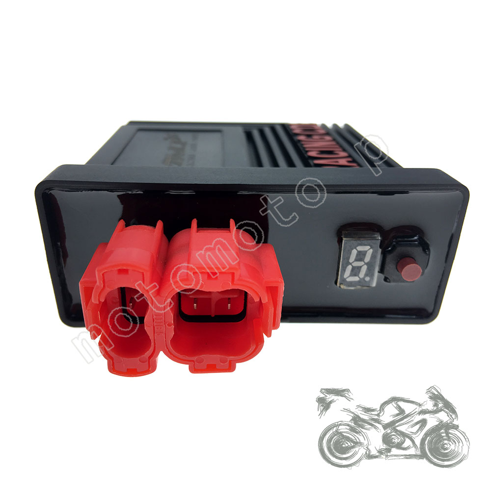 Performance 6 pin digital adjustable AC Racing CDI Box Ignition Coil For  GY6 125 150cc 139QMB 152QMI 157QMJ CG Scooter Moped ATV