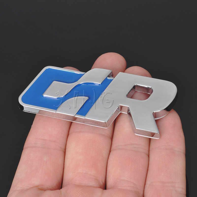 3D autocollant de voiture en métal emblème Badge autocollant Auto pour Volkswagen R course VW Golf Passat Tiguan CC Sagitar Touareg SR GR accessoires