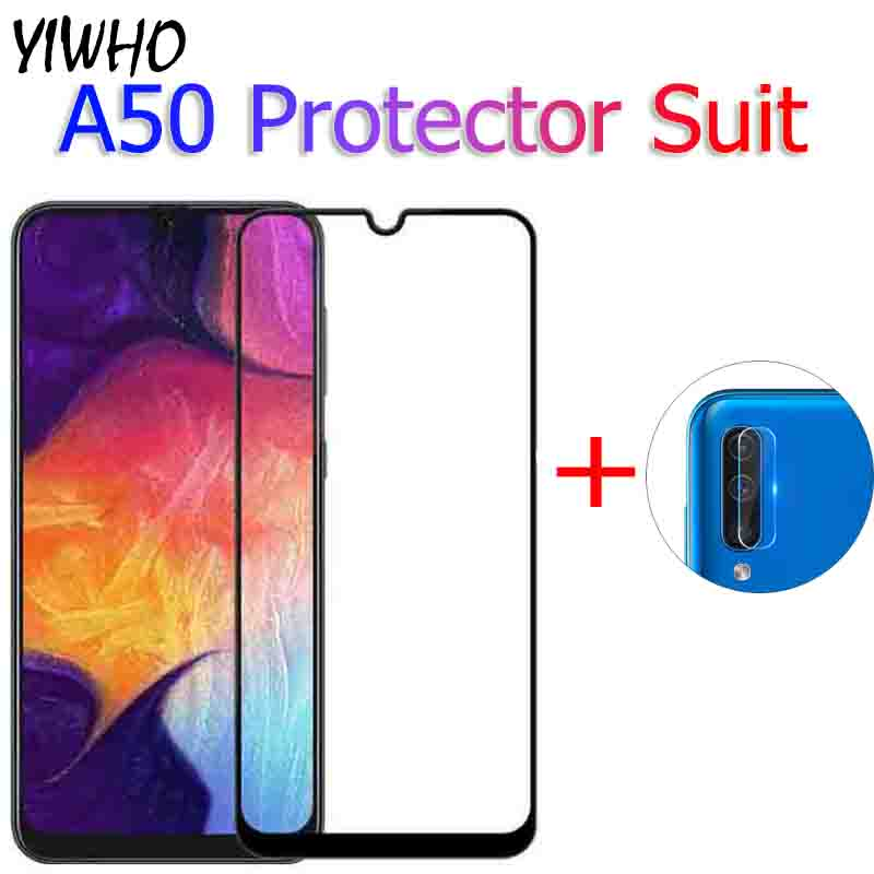 Tempered <font><b>Glass</b></font> On For <font><b>Samsung</b></font> A50 2019 Cmera lens Protective <font><b>Glass</b></font> For <font><b>Samsung</b></font> Galaxy A50 <font><b>A</b></font> <font><b>50</b></font> 50A 6.4INCH Glas Film A505F glas image