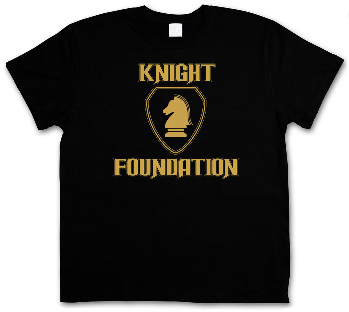 T-SHIRT BLACK KNIGHT FOUNDATION LOGO - Rider K.I.T.T. S M L XL XXL XXXL T-Shirt