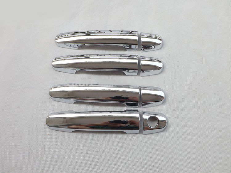 2012 ABS chrome door handle cover For <font><b>toyota</b></font> <font><b>COROLLA</b></font> 2008 <font><b>2009</b></font> 2010 2011 2012 auto <font><b>accessories</b></font> 8pcs image