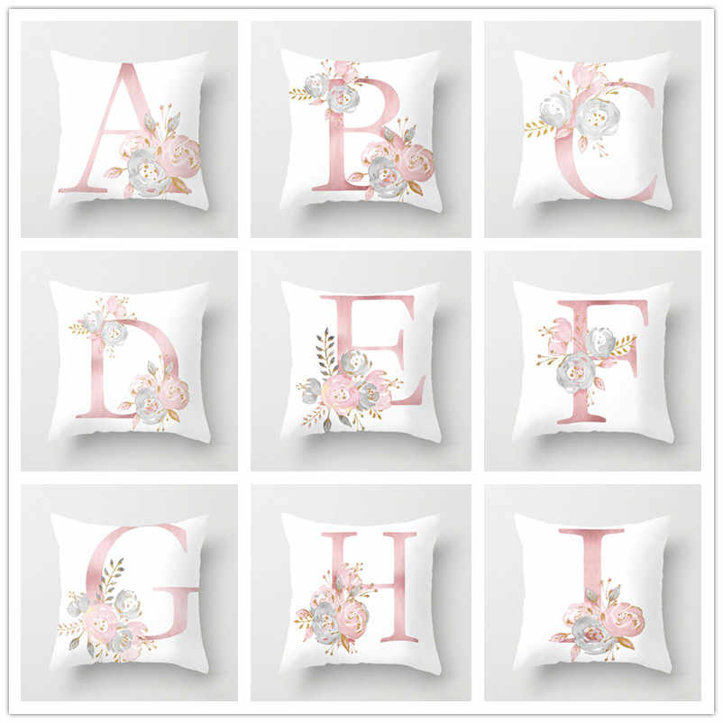 Baby Shower Favors Letter Pillow Case Wedding Gifts for Guests Bridesmaid Personalized Gift Party Favors for Birthday Souvenir