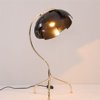 Scandinavian Iron Table Lamp Design Creative Lamps Living Room Bedroom Bed Study Room Individual Table Lights