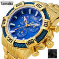 Temeite Relogio Masculino Business Luxury Gold Quartz Analog Men's Watches Sport Watch Men Waterproof Military Male  Wristwatch