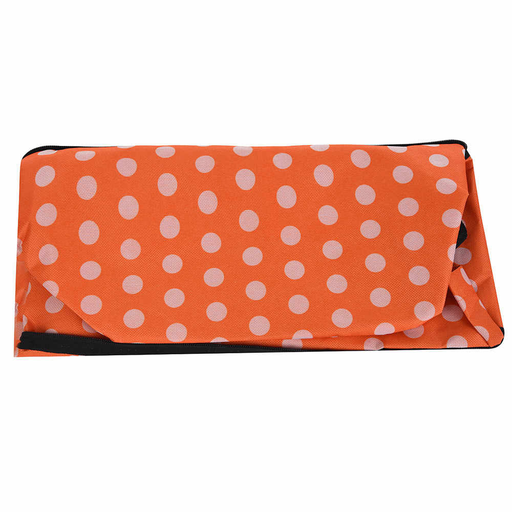 Folding Shopping Bag Shopping Cart On Wheels Bag Small Pull Cart Women Buy Vegetables Bag Shopping Organizer Tug Package