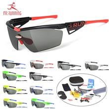 Mr.RUNNING Photochromic Cycling Goggles Polarized Sports Sunglasses Men Women MTB Mountain Road Bicycle Eyewear Cycling Glasses