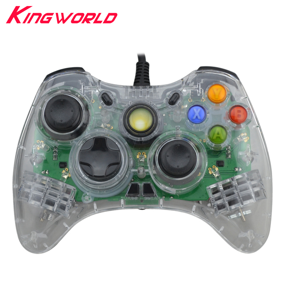 10pcs High quality Wired USB PC Controller Vibration Game Controller ...
