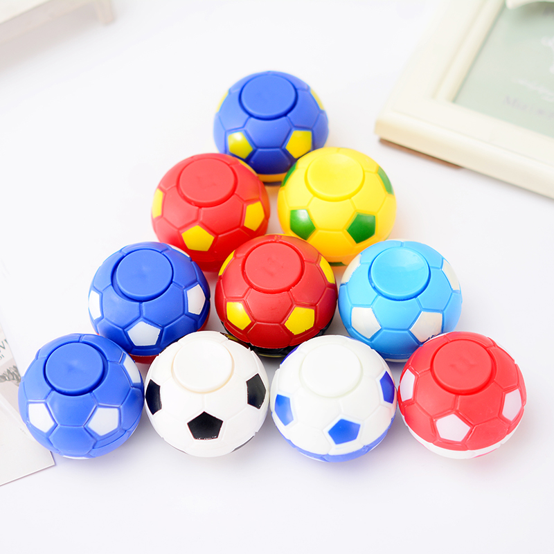 10PCS/2019 Creative Mini Finger Football Finger Hand Spinner EDC Stress Relief Gyro Toy Anti Stress Fun Toys For Adults Kids