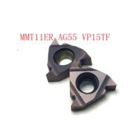 חוט mmt11er ag55 vp15tf חיצוני חוט הפיכת כלי 20PCS MMT11ER AG55 VP15TF / UE6020 / US735 כלי קרביד 55 (1)