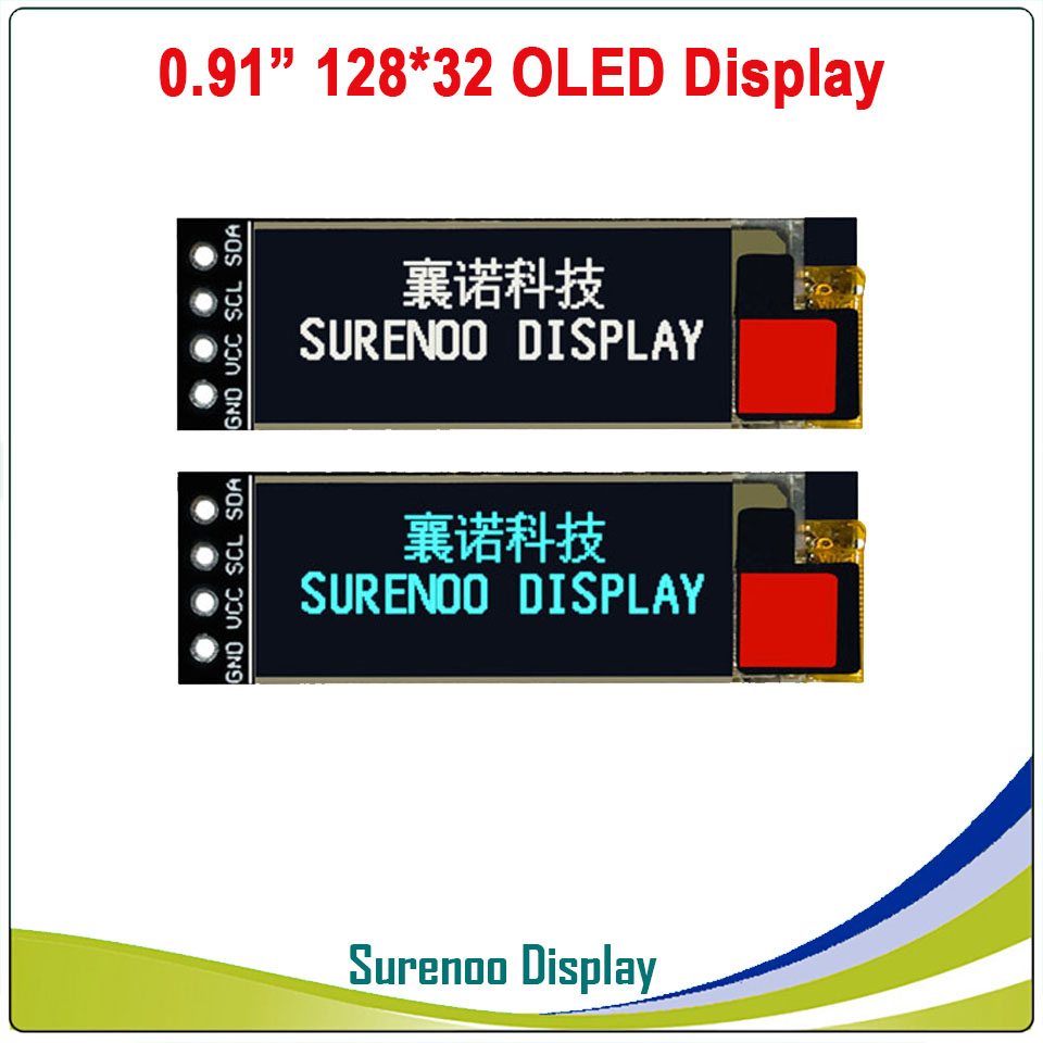 Real OLED Display, 0.91