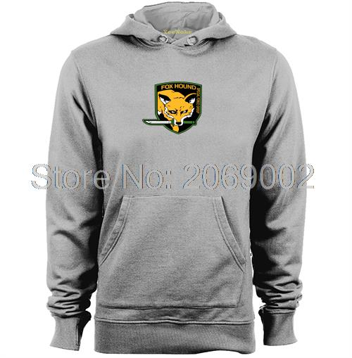 Metal Gear Solid MGS Fox Hound VideoGame Mens & Womens unique design Hoodies