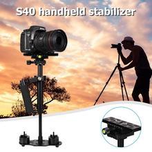 S40 Handheld Aluminum Alloy Video Stabilizer Mount for Phone DSLR DV AEE DSLR Video Camera